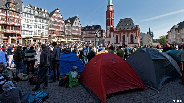 Blockupy in Frankfurt am Main