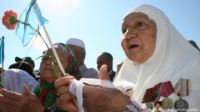 Массовая акция крымских татар