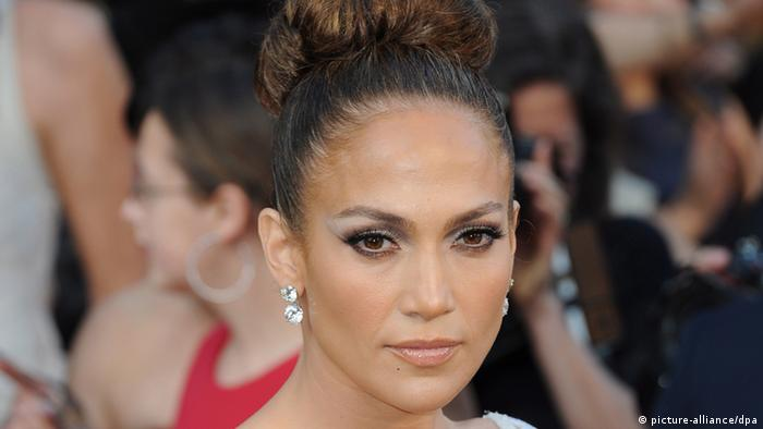 Jennifer Lopez bei Oscarverleihung 2012