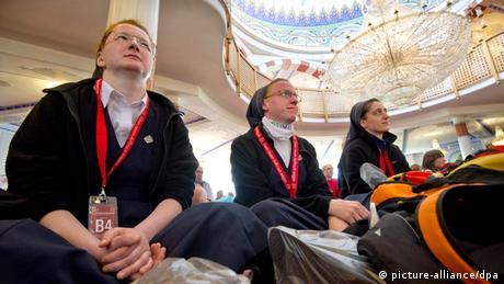 Katholikentag 2012 Moscheebesuch (picture-alliance/dpa)