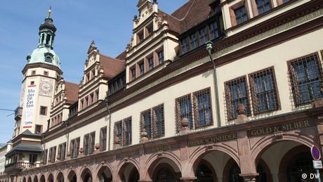 Altes Rathaus in Leipzig Sachsen Deutschland