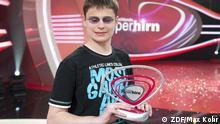 Fotos aus der Show Deutschlands Superhirn 2012:  Auftritt des Kandidaten Dave Janischak