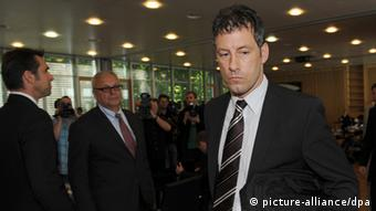 Match referee Wolfgang Start at the DFB hearing