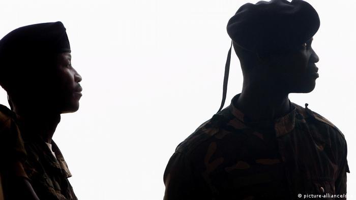 Soldados na Guiné-Bissau