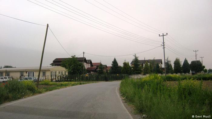 Put prema selu Aralk, pored Serdivana