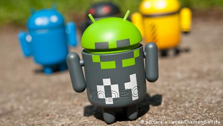Android Roboter Logo Männchen