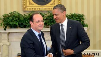 باراک اوباما از سیاست رشد اقتصادی فرانسوا اولاند حمایت میکند