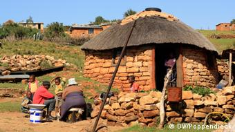 Lesotho in southern Africa