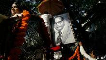 Bhimrao Ramji Ambedkar Gedenken ARCHIVBILD 2009