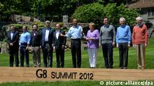 Auftakt G8-Gipfel in Camp David (USA)
