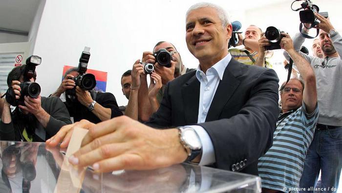 Boris Tadic Wahl Serbien 2012