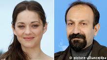اصغر فرهادی و ماریون کوتیار، بازیگر فرانسوی