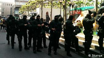 Blockupy in Frankfurt