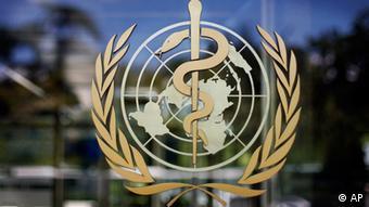 Logo der Weltgesundheitsorganisation (AP)