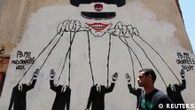 Präsidentschaftswahlen Ägypten Mai 2012 Graffiti