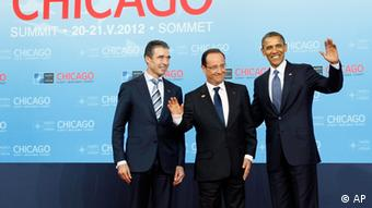 Rasmussen, Hollande i Obama