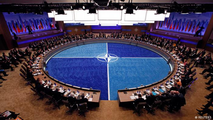 Leaders take part in the NATO Summit meeting in Chicago, May 20, 2012.