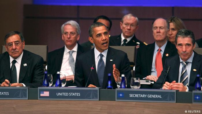Discussions at the NATO summit in Chicago