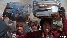 Flüchtlingslager in Tunesien ARCHIVBILD 2011