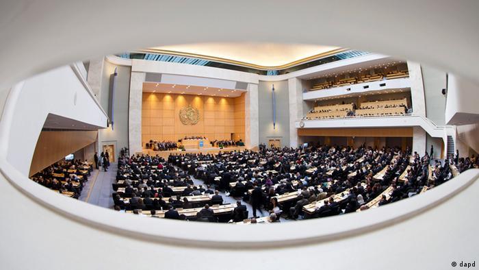 Weltgesundheitsorganisation WHO in Genf (dapd)