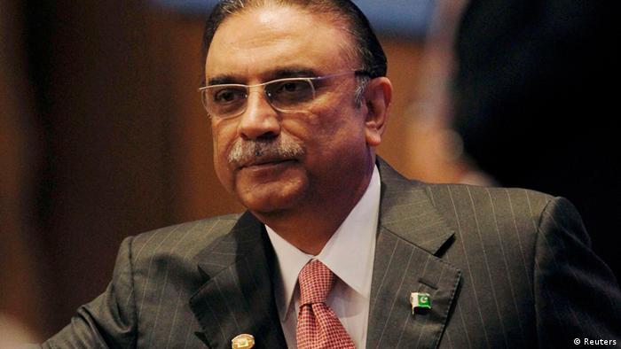 Pakistan President Asif Zardari
