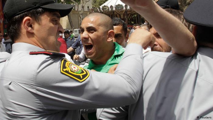 Антиправительственные выступления в Баку в мае 2012 года