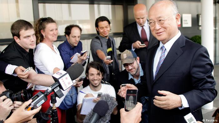 یوکیا آمانو، سرپرست آژانس بینالمللی انرژی اتمی، از ایران خواست در برنامه اتمی خود دست به شفافسازی زند