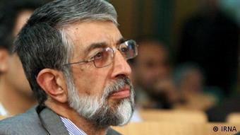 غلامعلی حداد عادل، رقیب علی لاریجانی برای ریاست مجلس نهم