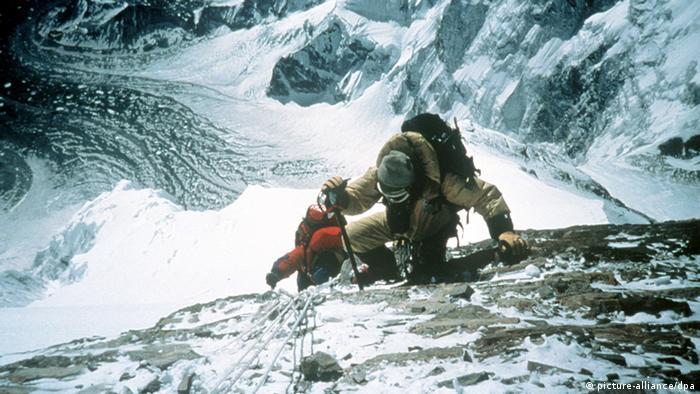 Ascending Mount Everest