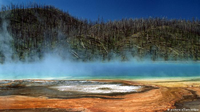 Wyoming Grand Prismatic Spring