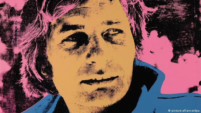A portrait of Sachs by Warhol