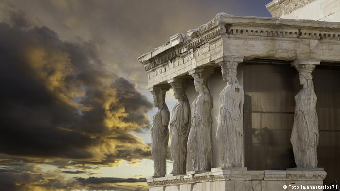 Caryatids in Erechtheum, Acropolis,Athens,Greece © anastasios71 #36235068