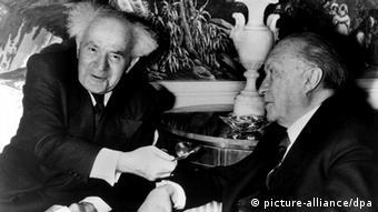 Susret Davida Bena Guriona i kancelara Konrada Adenauera