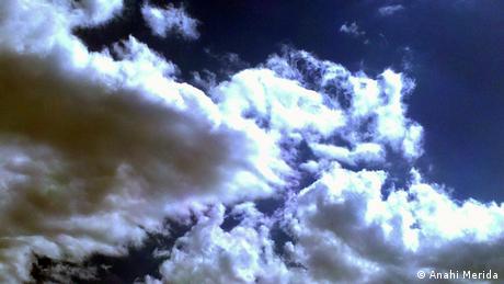 Himmel in Metepec Mexiko