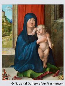 Die Haller Madonna (Foto: Germanisches Nationalmuseum)