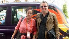 Tagebuch 1 Suzanne & Matthias vor Taxi