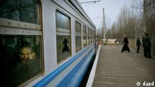 Tschernobyl Zug