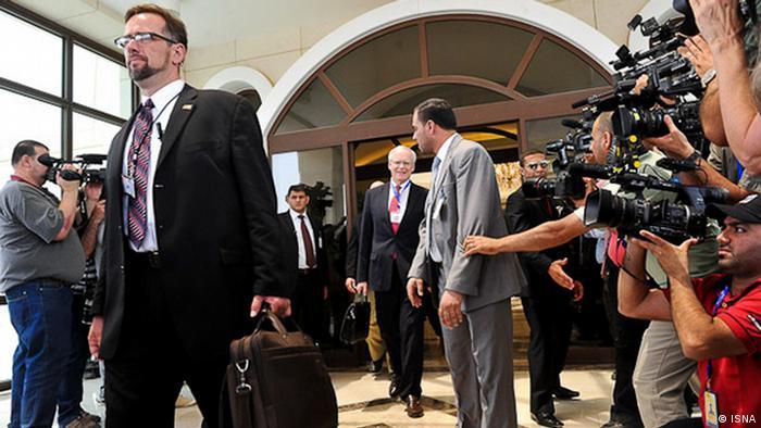 Zweiter Tag der Verhandlungen über den Atomkonflikt mit Iran am 24.05.2012 in Bagdad zwischen Vertreter der 5+1-Gruppe und der Islamischen Republik Iran. Copyright: ISNA 24.05.2012, Bagdad
