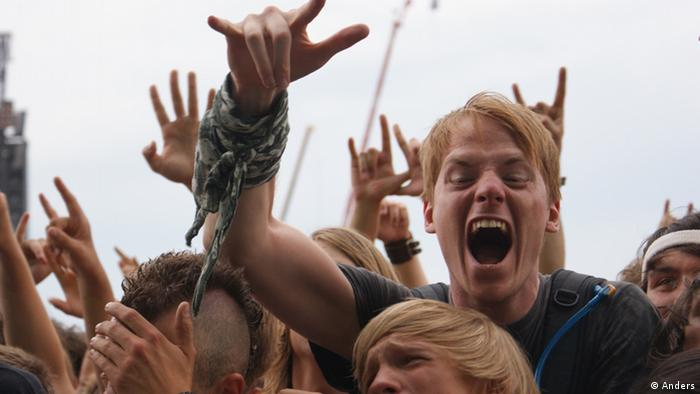 Fans bie Rock am Ring (Foto: Uli Anders)