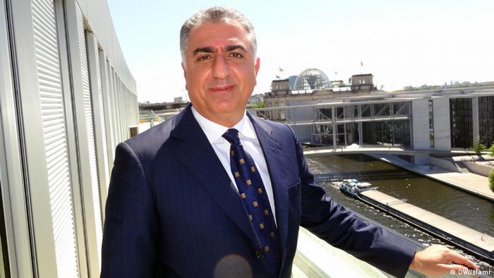 Reza Pahlavi (DW/Islami)