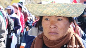 Woman from Bolivia's lowland