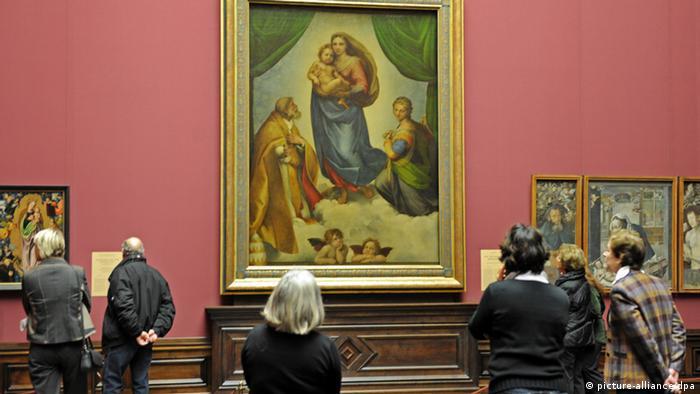 Sixtinische Madonna von Raffael (picture-alliance/dpa)