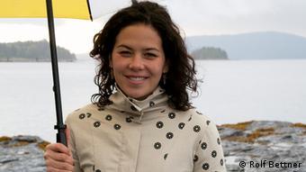 Severn in her home community of Haida Gwaii, British Columbia.