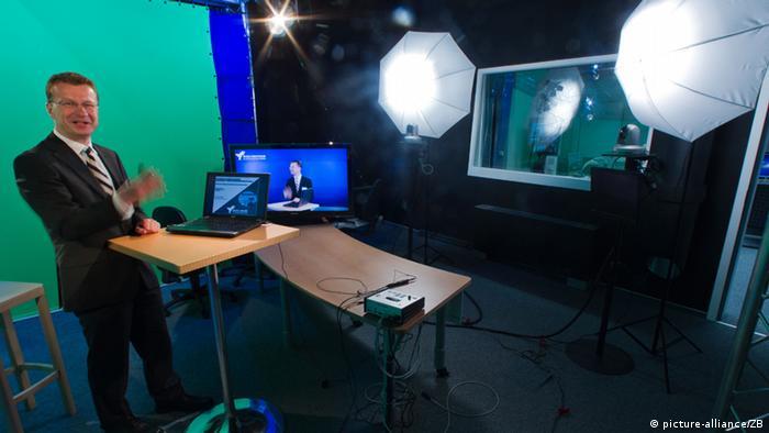 Na visokoj školi u Wismaru virtualna predavanja su testirana već prije nekoliko godina