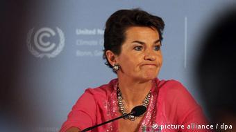 UNFCCC head Christiana Figueres