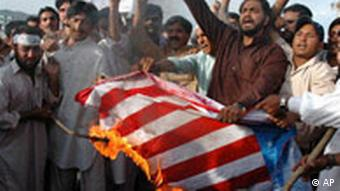 Anti-amerikanische Proteste in Pakistan (Foto:ap)