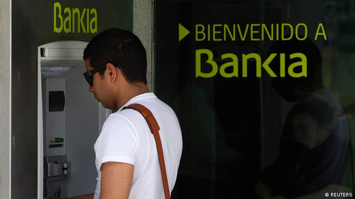 Bankia in Bank Spanien