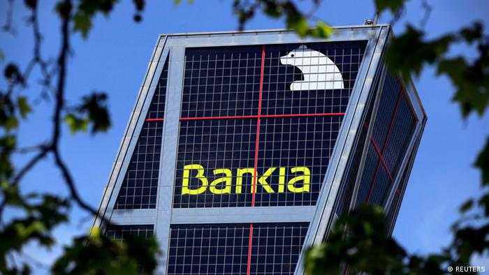 Bankia headquarters building in Madrid