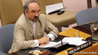 احمد خزائی، نماینده ایران در سازمان ملل