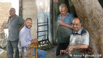 População egípcia ansiosa com o futuro do país